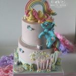 My Little Pony 5th Birthday Cake by White Rose Cake Design Bespoke Birthday Cake Maker in Holmfirth West Yorkshire