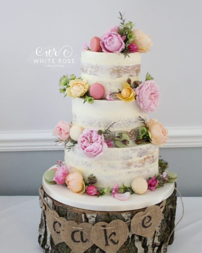 Macarons on Wedding Cake Archives - White Rose Cake Design