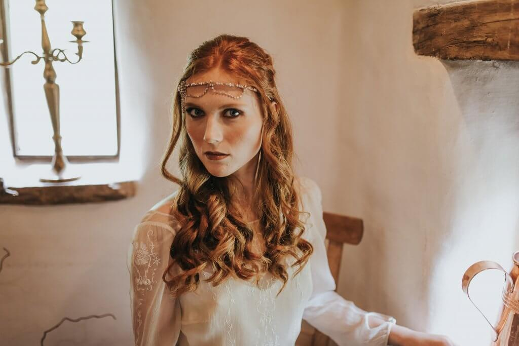 Bridal Look Game of Thrones Inspired Wedding