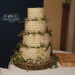our Tier Rustic Greenery Foliage Wedding Cake by White Rose Cake Design Modern Cakes in Holmfirth Huddersfield West Yorkshire