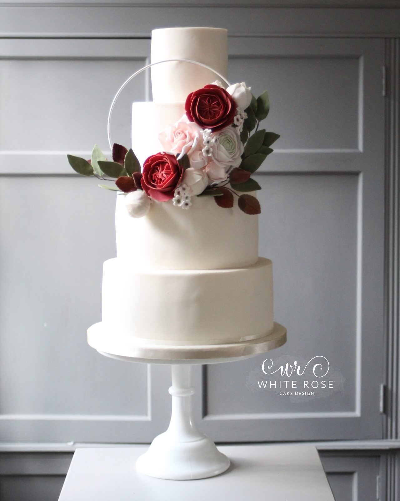 Modern Luxurious Wedding Cakes In Holmfirth, West Yorkshire