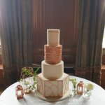 Geometric-Rose-Gold-Wedding-Cake-at-Carlton-Towers-Modern-Wedding-Cake-by-White-Rose-Cake-Design-Luxury-Wedding-Cakes-in-West-Yorkshire