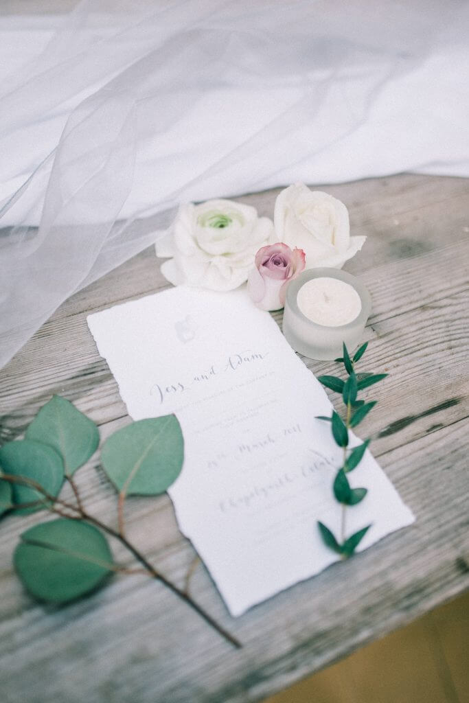Stationery Flat Lay Wedding Inspiration