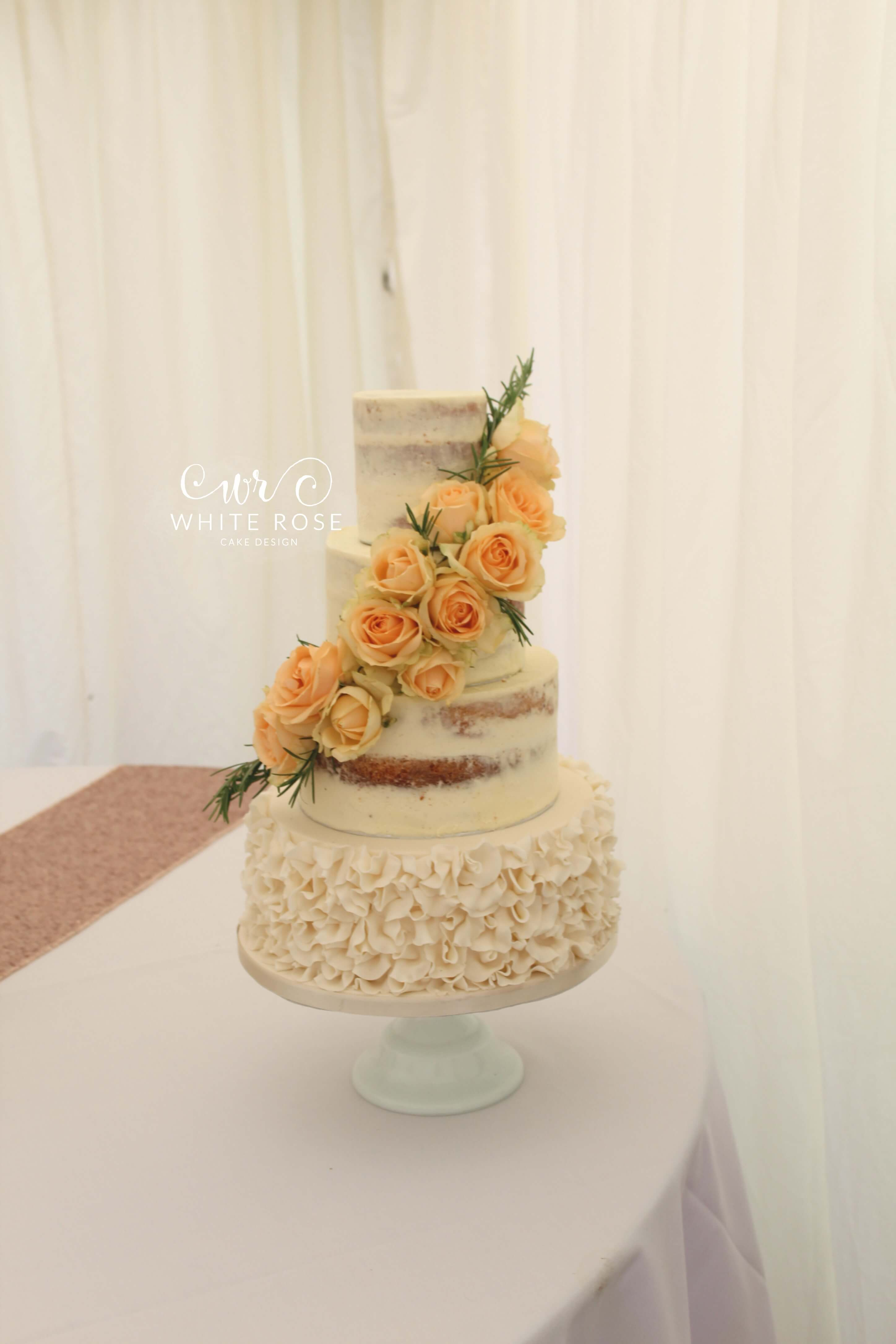 Modern Luxurious Wedding Cakes In Holmfirth West Yorkshire