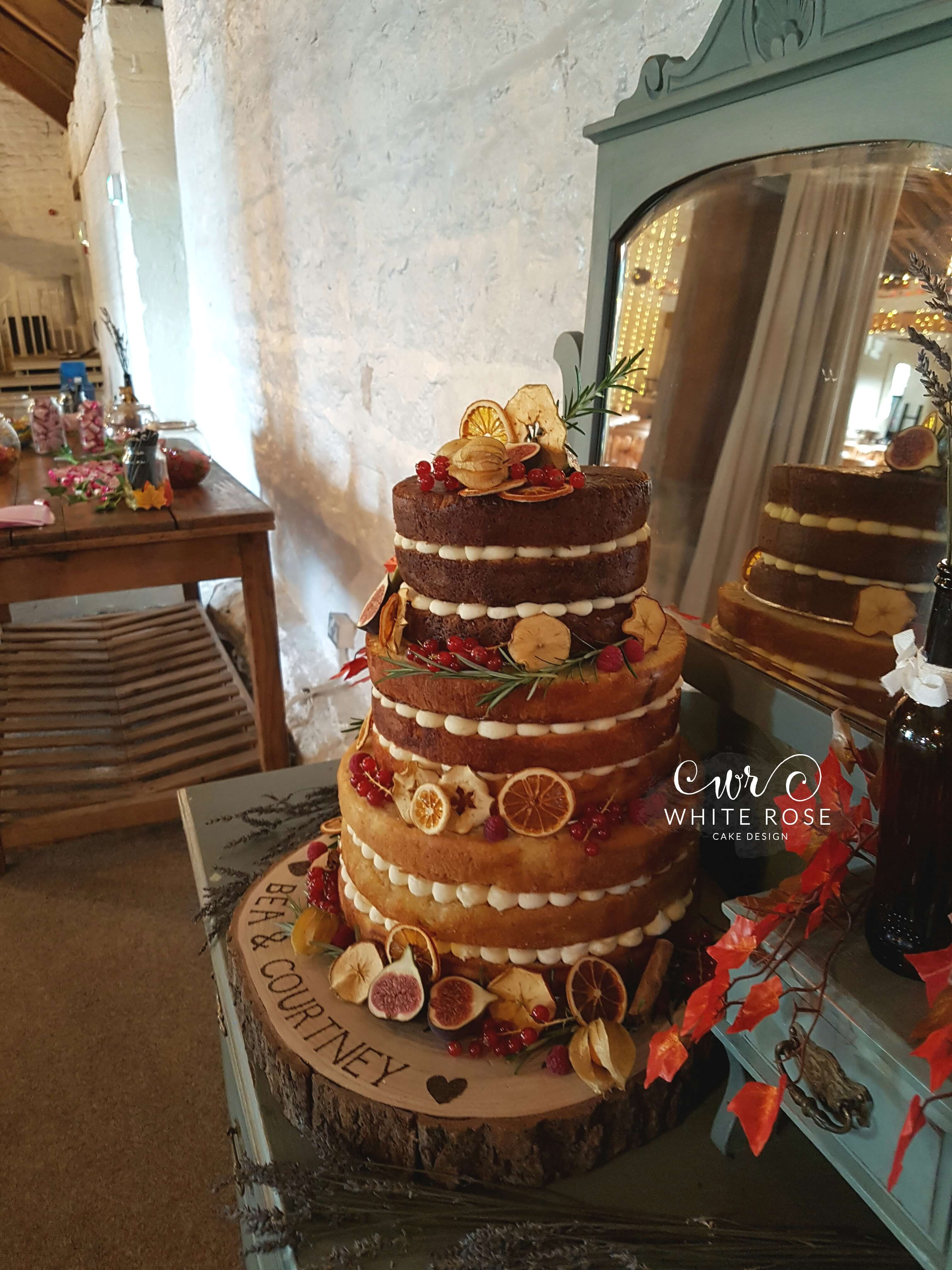 wedding cakes east yorkshire autumnal wedding cake wedding cake with fruits for 24243
