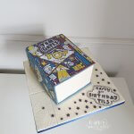 Tom Gates Book BIrthday Cake by White Rose Cake Design in Holmfirth